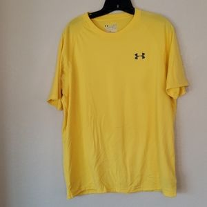 Under Armour Yellow shirt size Large
